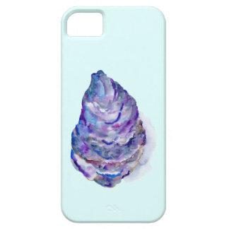 De abstracte Oester Shell van de waterverf Barely There iPhone 5 Hoesje