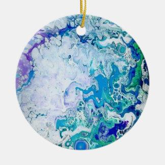 De abstracte Ornamenten van Kerstmis van de Kunst