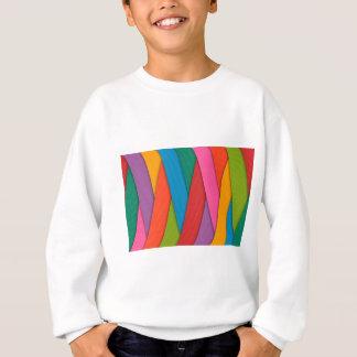 De abstracte Regenboog kleurt Achtergrond Trui