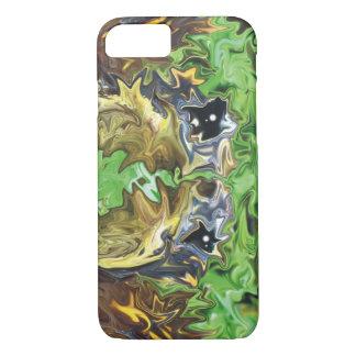 De abstracte Schildpadden van de Kunst iPhone 7 Hoesje
