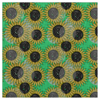 De abstracte stemming van de zonnebloemenzomer
