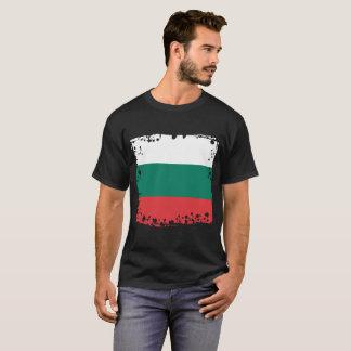 De abstracte Vlag van Bulgarije, Bulgaarse T Shirt