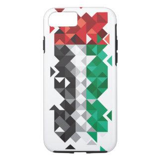 De abstracte Vlag van de V.A.E, het Verenigde iPhone 8/7 Hoesje