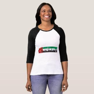 De abstracte Vlag van de V.A.E, het Verenigde T Shirt