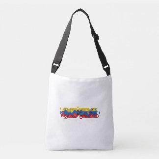 De abstracte Vlag van Ecuador, Republiek van de Crossbody Tas