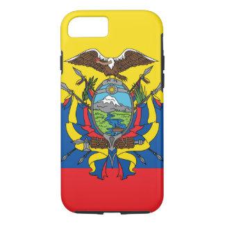 De abstracte Vlag van Ecuador, Republiek van de iPhone 8/7 Hoesje