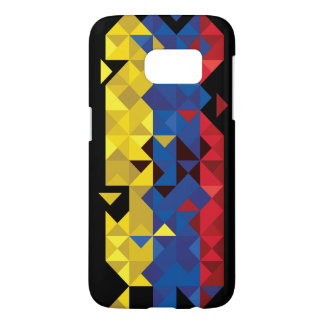 De abstracte Vlag van Ecuador, Republiek van de Samsung Galaxy S7 Hoesje