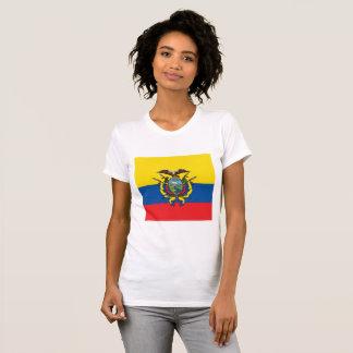 De abstracte Vlag van Ecuador, Republiek van de T Shirt
