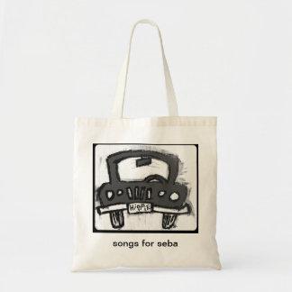 de abstracte zak van de hippievrachtwagen draagtas