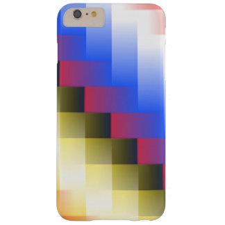 De Abstractie van de kleur Barely There iPhone 6 Plus Hoesje