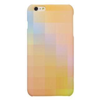De Abstractie van de kleur iPhone 6 Plus Hoesje Mat