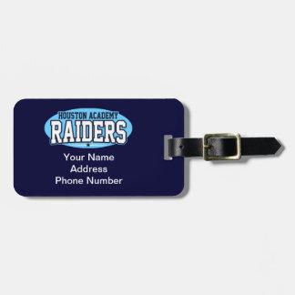 De Academie van Houston; Raiders Kofferlabel