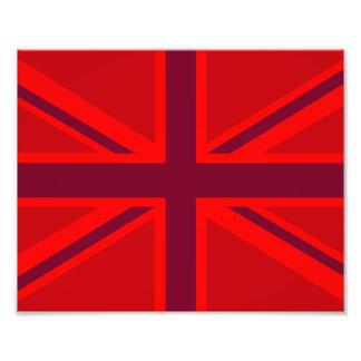 De Achtergrond Brits Union Jack van de rode Kleur