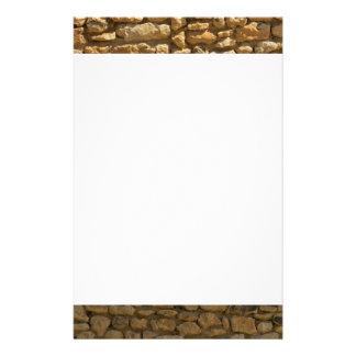 De Achtergrond van de Bakstenen muur Briefpapier Ontwerp