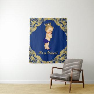 De Achtergrond van de Banner van het Baby shower Wandkleed