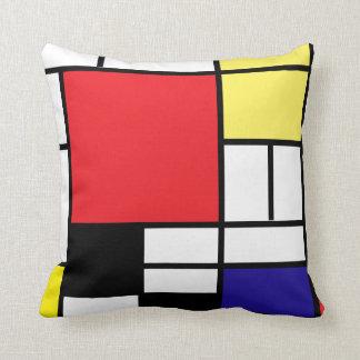 De achtergrond van de Kunsten 2/diy van Mondrian Sierkussen