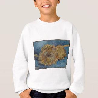 De achtergrond van de zonnebloem trui