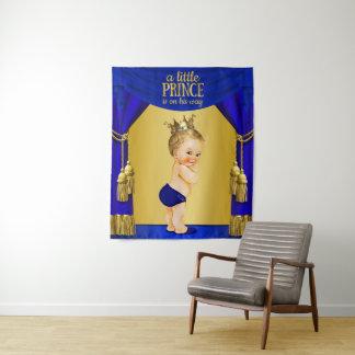 De Achtergronden van het Baby shower van de prins Wandkleed