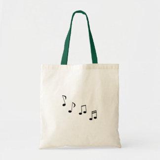 De Achtste noten of de trillingen van de muziek - Draagtas