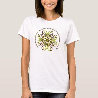 De achtvoudige Gepaste T-shirt van de Weg Dames