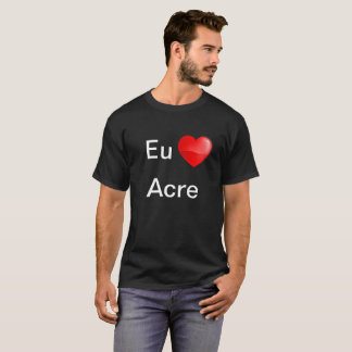 De Acre van de EU amo van Camiseta T Shirt