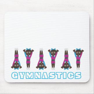 De Acrobatiek die van de gymnastiek de Gymnastiek Muismat