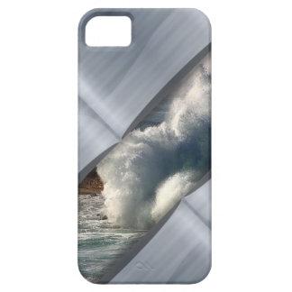De Actie en het Zilver van de golf iPhone 5 Case-Mate Hoesjes