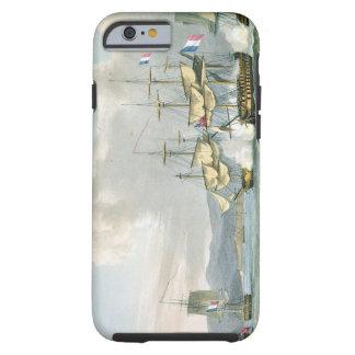 De actie van het fregat in Road Vizagapatam, van Tough iPhone 6 Case