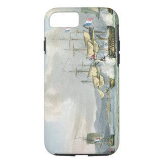 De actie van het fregat in Road Vizagapatam, van iPhone 7 Hoesje