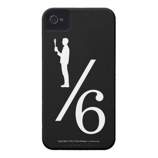 De actiecijfer van één zesde Case-Mate iPhone 4 hoesje