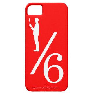 De actiecijfer van één zesde iPhone 5 covers