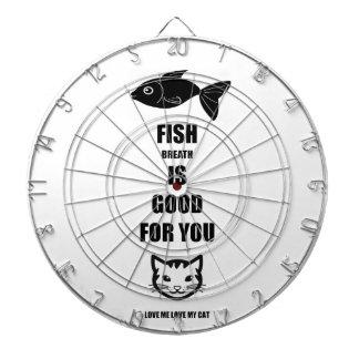 De Adem van vissen is Goed voor u Dartbord