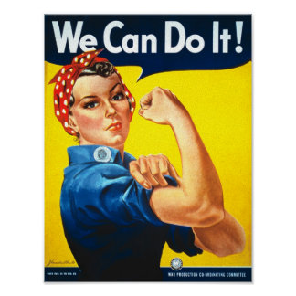 De Advertentie van de Rechten van vintage Vrouwen Poster