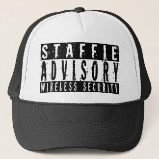 De Adviserende Draadloze Veiligheid van Staffie Trucker Pet