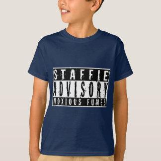 De Adviserende Schadelijke Dampen van Staffie T Shirt