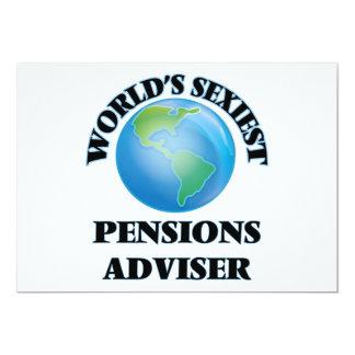 De Adviseur van de Pensioenen van Sexiest van de Persoonlijke Uitnodiging
