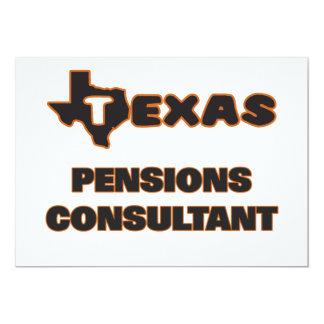 De Adviseur van de Pensioenen van Texas 12,7x17,8 Uitnodiging Kaart
