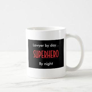 De Advocaat van Superhero Basic Witte Mok