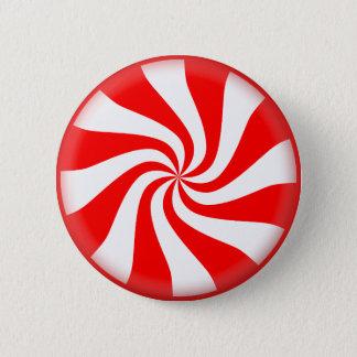 De Afbeeldingen van Kerstmis van het snoep Ronde Button 5,7 Cm