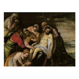 De afdaling van het Kruis Briefkaart