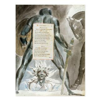 """De """"afdaling van Odin"""", ontwerpt 81 van de Briefkaart"""