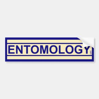 De Afdeling van de entomologie Bumpersticker