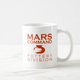 De Afdeling van het Aardewerk van het Bevel van Koffiemok