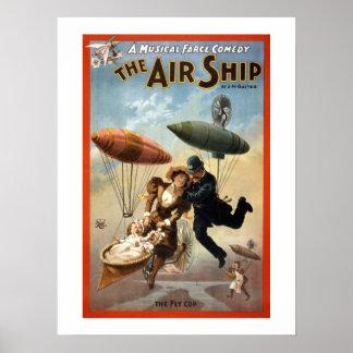 De affiche van het Theater van het Luchtschip Poster