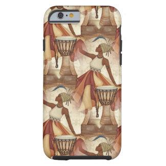 De Afrikaanse aarde van de Kunst stemt neutrale Tough iPhone 6 Hoesje