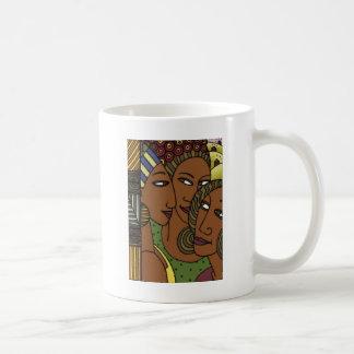 De Afrikaanse Amerikaanse vrienden van de Koffiemok