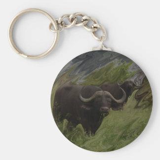 De Afrikaanse Buffels Sleutelhanger