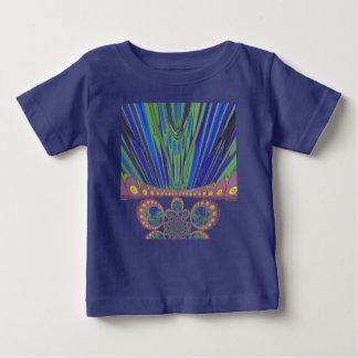 De Afrikaanse decoratieve kleuren van het patroon Baby T Shirts