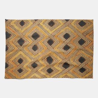 De Afrikaanse Textiel van Zaïre de Kongo Kuba Theedoek