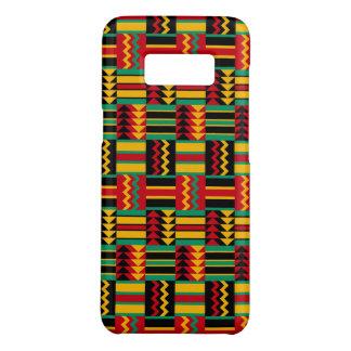 De Afrikaanse Zwarte van de Trots van het Weefsel Case-Mate Samsung Galaxy S8 Hoesje